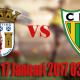 Prediksi Sporting Braga vs CD Tondela 17 Januari 2017